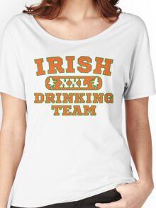 XXL Irish Drinking Team St Patricks Day T Shirt Women's Relaxed Fit T-Shirt