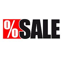 Sale sell reduced percentages by Style-O-Mat