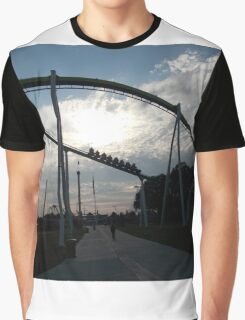 Fury 325 at Carowinds Roller Coaster Graphic T-Shirt