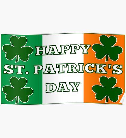 Happy St. Patricks Day Poster