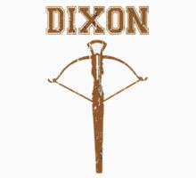 Walking Dead DIXON Crossbow Shirt, Stickers and Posters Zombie by sturgils