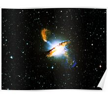 Centaurus A Print & Poster | Fresh Universe Poster