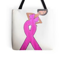 Breast Cancer Awareness Card Tote Bag