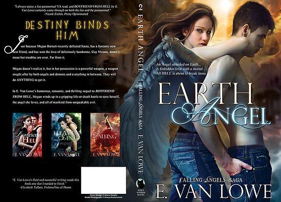 Eart Angel Book Cover Jacket Design by Adara Rosalie
