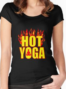 Hot Yoga  Women's Fitted Scoop T-Shirt