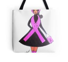 Breast Cancer Awareness Cards Tote Bag