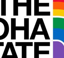 The Aloha State #hepuakiko Sticker