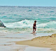Little Surfer Dude by Martha Sherman