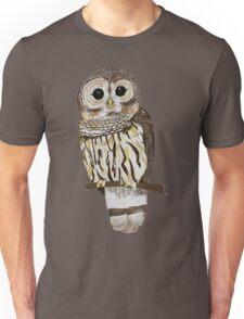 Hand drawn Barn Owl Unisex T-Shirt