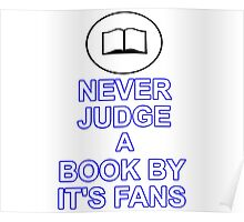 Never Judge A Book Poster