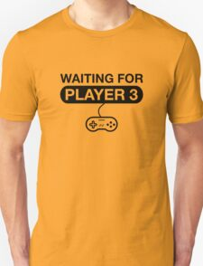 Waiting For Player 3. Maternity T -Shirt Unisex T-Shirt