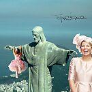 Máxima enjoying Corcovado by Dulcina