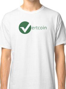 Vertcoin Logo 2 Classic T-Shirt