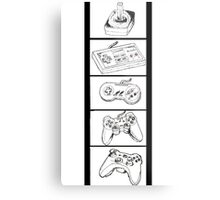 Video Game Controllers Metal Print