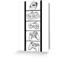 Video Game Controllers Greeting Card