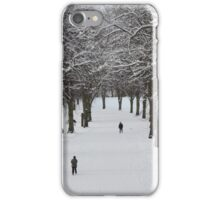 Shrewsbury in the snow iPhone Case/Skin