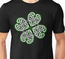 Brass Knuckle Shamrock solid Unisex T-Shirt