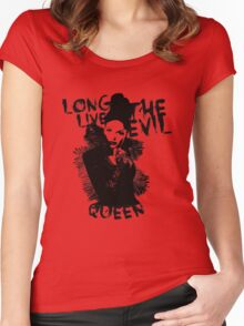 Long live the Evil Queen Women's Fitted Scoop T-Shirt