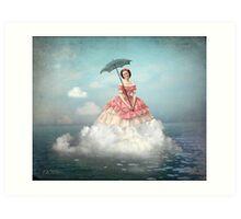 Swimming Cloud Art Print