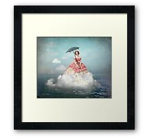 Swimming Cloud Framed Print