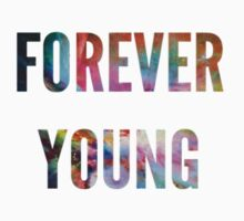 One Direction -Forever Young T-shirt/Iphone by Deborah  Stormborn