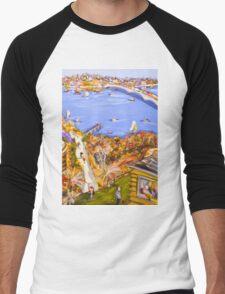 Riverside dreams Men's Baseball ¾ T-Shirt