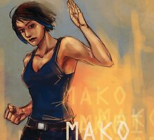 Mako Mori by blinkingkills