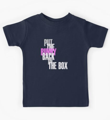 Con Air - Put The Bunny Back In The Box Kids Tee