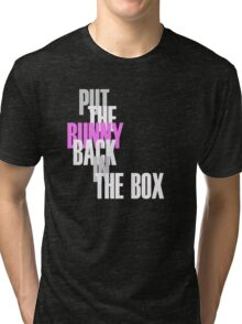 Con Air - Put The Bunny Back In The Box Tri-blend T-Shirt