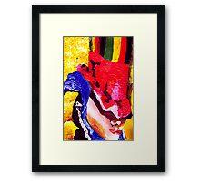 Don't Panic Hal Brinton Framed Print