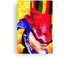 Don't Panic Hal Brinton Canvas Print
