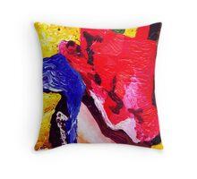 Don't Panic Hal Brinton Throw Pillow