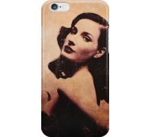 Dita (sepia) iPhone Case/Skin