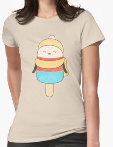 popsicle - freezing but never cold! Womens Fitted T-Shirt