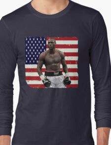 Deontay Wilder American Boxing Heavyweight  Long Sleeve T-Shirt