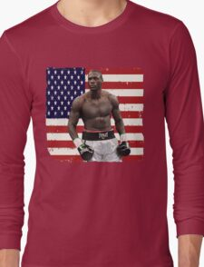 Deontay Wilder American Boxing Heavyweight  Long Sleeve T-Shirt
