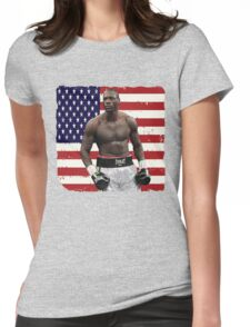 Deontay Wilder American Boxing Heavyweight  Womens Fitted T-Shirt