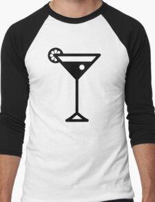 Cocktail Men's Baseball ¾ T-Shirt