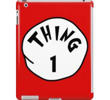 Thing 1 Gift ideas - Family thing - matching thing iPad Case/Skin