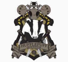 Hufflepuff Quidditch by kasokami