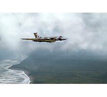 Vulcan Landfall Photographic Print