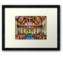 St Michaels Church Inkpen Framed Print