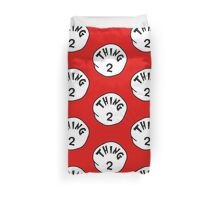 Thing 2 - gift idea, matching family- vacations Duvet Cover