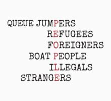 REFUGEES ARE PEOPLE by Rob Price
