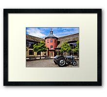 Sheepdrove Eco Conference Centre Framed Print