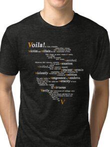 V For Vendetta - You Can Call Me V Tri-blend T-Shirt