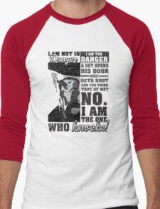 Breaking Bad Heisenberg Shirt Men's Baseball ¾ T-Shirt