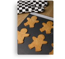 Gingerbread Men Canvas Print