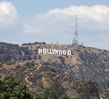 Hollywood Sign by elstoleno