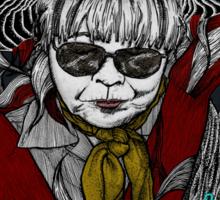 Lady Yoyogi Sticker